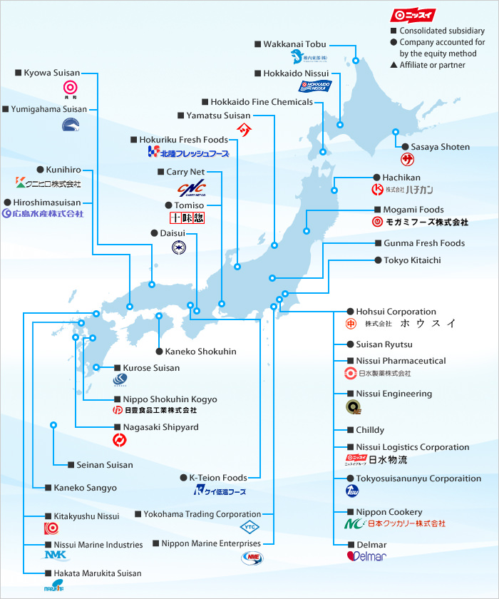 Business Activities By Region Japan Global Network Our - Japan map activity