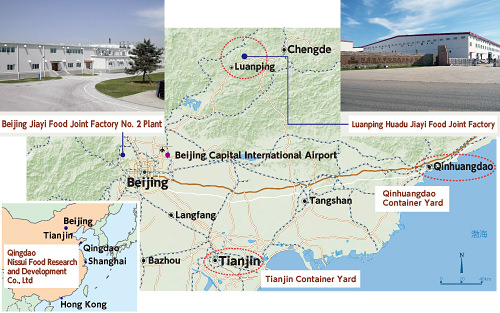 NISSUI Frontier - Chengde map