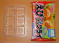 photo:Example of reduced packaging: Ebi-Puri-Puri Fry