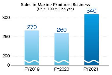 Sales in Fine Chemicals Business