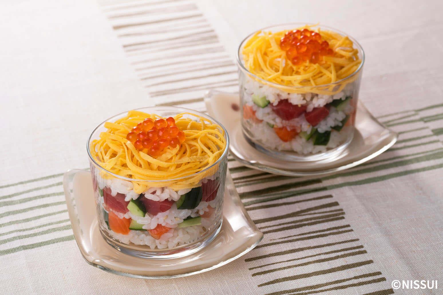 カップ寿司 | レシピ | ニッスイ